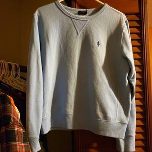 Blue Ralph Lauren sweatshirt
